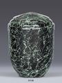 81136, Kupferurne, (0,25 Liter Volumen), Miniurne, Kleinurne, Modern, grün, gesprenkelt, Spezifikation  Höhe ca. 11,0 cm Durchmesser ca. 8,0 cm Maßangaben H: ca. 11,0 cm ø ca. 8,0 cm Gewicht ca. 0,2 kg, GRAVUR, FOLIENBESCHRIFTUNG, TRANSFERBILD, LANDWEHR